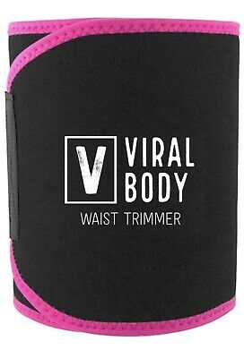 Viral Body Premium Waist Trimmer and Sweat Belt for Men and Women