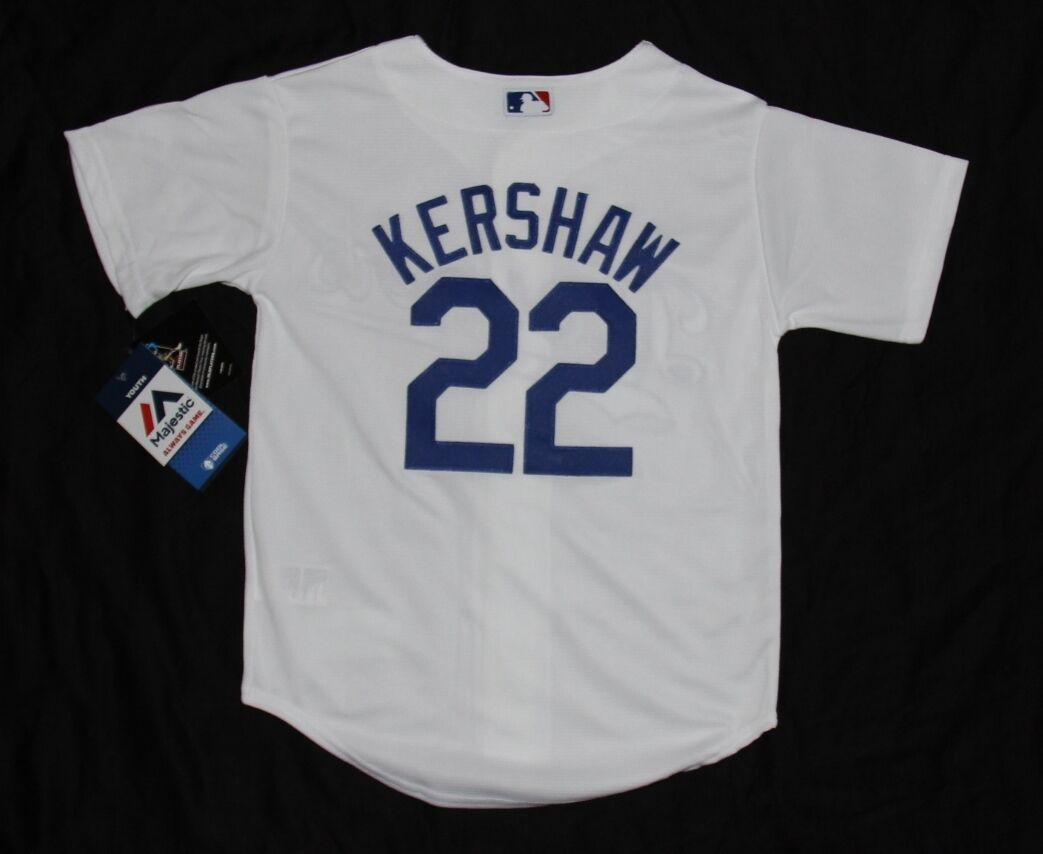 3ea9b0f449c Los Angeles LA Dodgers Majestic Youth Cool Base Clayton Kershaw Jersey. HARLEY  T-SHIRT ...