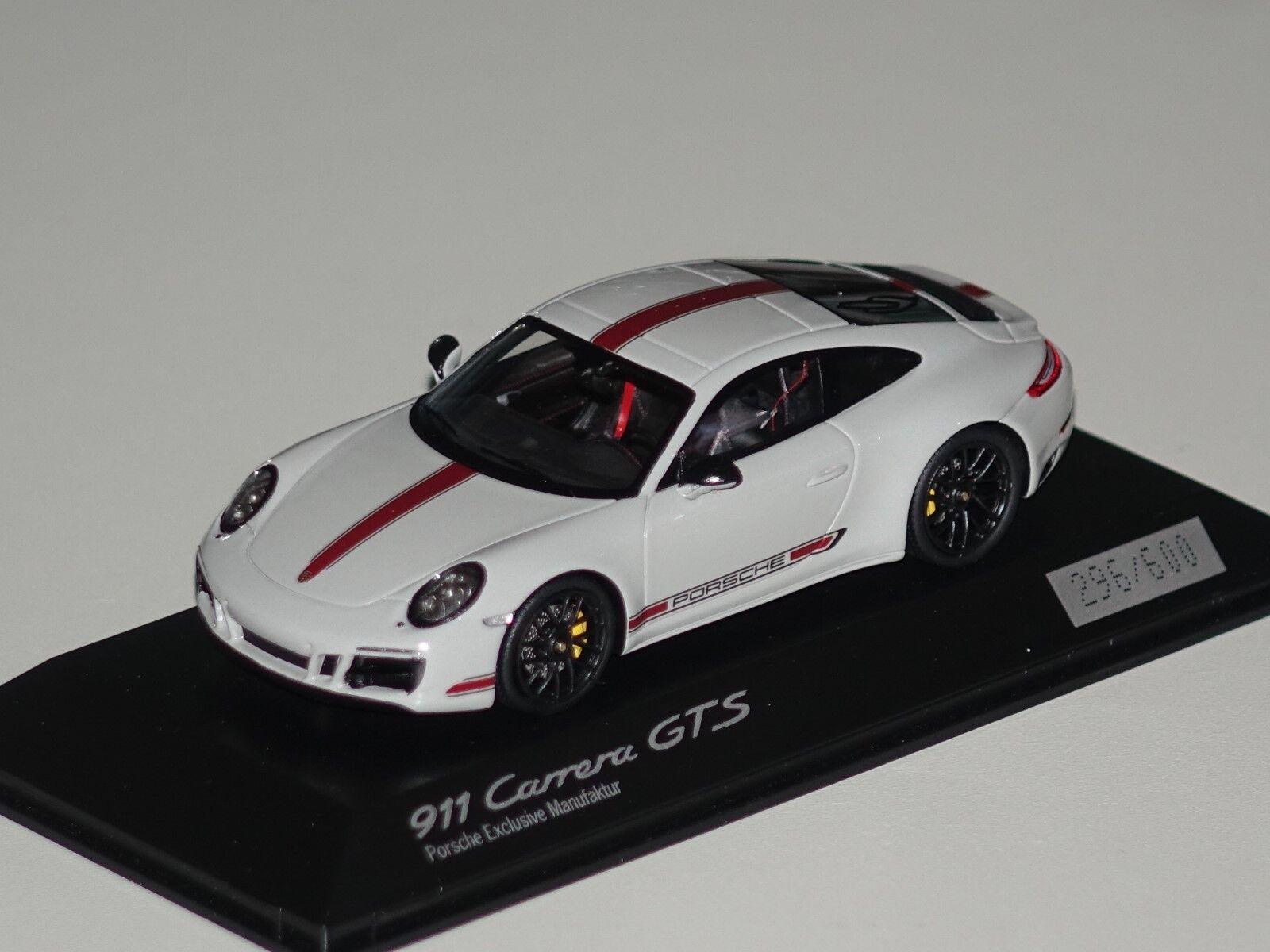 Porsche Porsche Porsche 911 Carrera GTS 1 43 Porsche Spark WAX02020055 neu & OVP ab2645