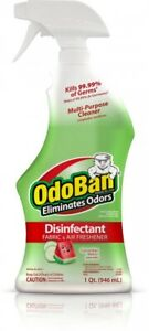 Image Is Loading Odoban Cuber Melon Disinfectant Fabric Air Freshener Mold