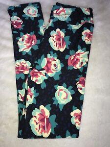 LuLaRoe Kids Leggings L//XL Large XLarge NWT Black Blue Teal Pink Floral