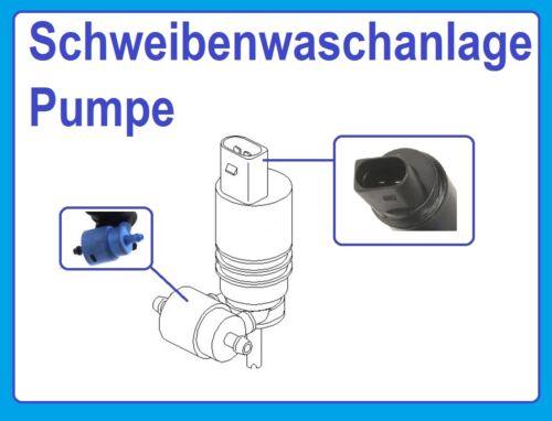 Pumpe Scheibenwaschanlage VW BORA 1J2 VW BORA Kombi 1J6