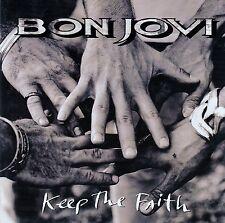BON JOVI  / KEEP THE FAITH / CD - MIT VIDEO KEEP THE FAITH (LIVE) / NEUWERTIG