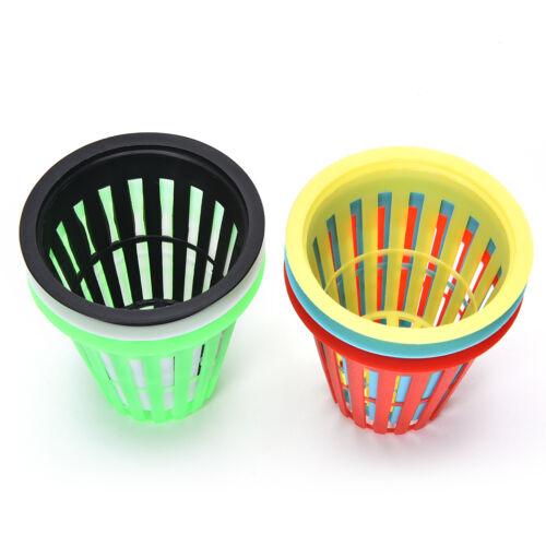 10x Heavy Duty Mesh Pot Net Cup Basket Hydroponic Aeroponic Plant Grow Clone ER