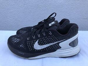 e41f059f100e Nike LunarGlide 7 Running Shoes Black Orange Teal Womens 10 Sneakers ...
