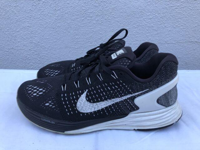 on sale 6719b beb87 Nike LunarGlide 7 Running Shoes Black Orange Teal Womens 10 Sneakers 747356  001