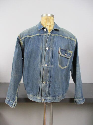 Levis LVC 506xx Big E Type 1 Denim Jacket Buckleba