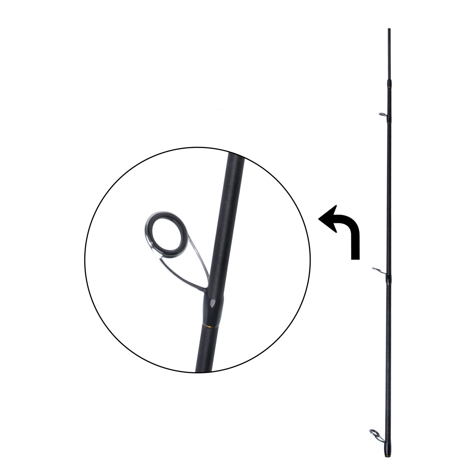 Carbon Fiber Fishing Rod Spinning Spinning Spinning Casting Fishing Travel Pole and Rod Case 1b2e7b