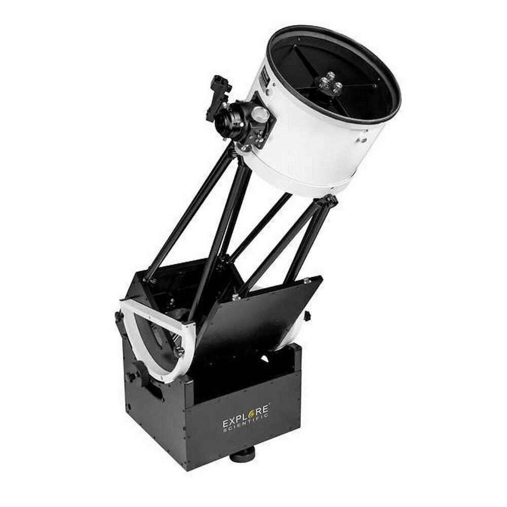 """Explore Scientific Dobsonian 10"""" Truss Tube Telescope Black"""