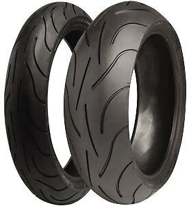 Motorcycle Tyres MICHELIN PILOT POWER 2CT 120/70/ZR17 & 190/55/ZR17 NEW Ducati