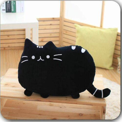 Pusheen Cat Cartoon Cushion Plush Stuffed Throw Pillow Toy Doll Home XMAS Gifts