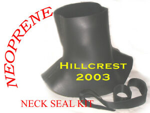 SCUBA-DIVING-DRY-SUIT-NEOPRENE-NECK-SEAL-made-2-measure