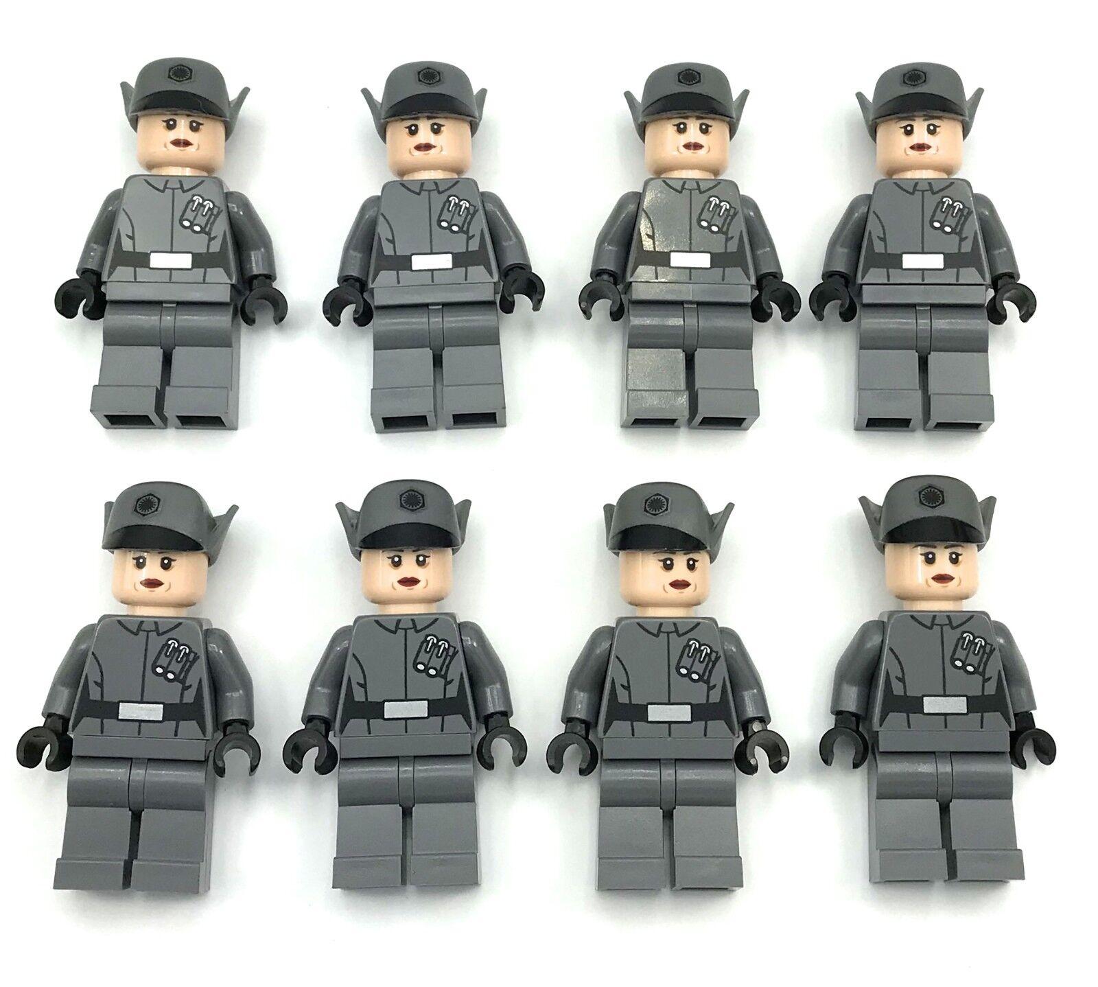 Lego Nouveau Star Wars Premier Ordre Officier Féminin 75104 Mini Figurines