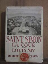 Duc de Saint-Simon/ La Cour de Louis XIV/ introduction par Charles Sarolea