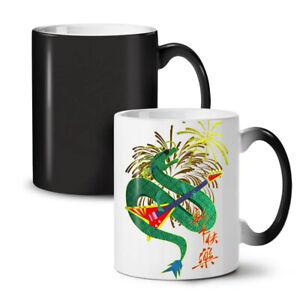 Chinese Year New NEW Colour Changing Tea Coffee Mug 11 oz   Wellcoda