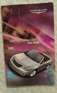 2010 chrysler sebring touring owners manual
