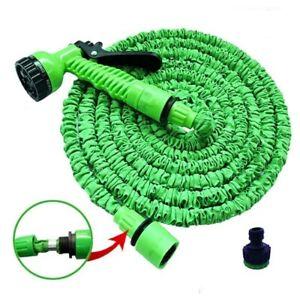 Duty Car Wash Retractable Coil Garden Hose Expandable Hose Water Pipe Spray gun