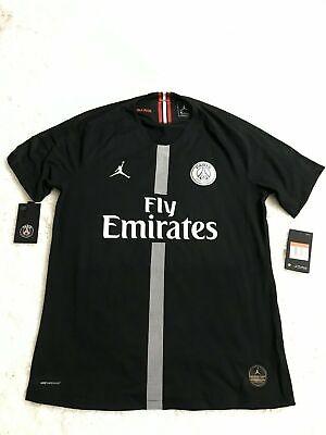 Nwt Nike Psg X Jordan Third Vapor Match Jersey 18 19 Black Small 918923 012 Ebay