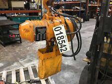 Ingersoll Rand 14 Ton Electric Chain Hoist 230460v Le 550 Lbs 80mke52pr6