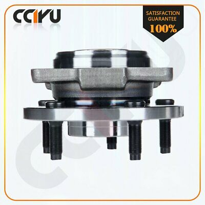 cciyu New Wheel Hub Bearing Front Assembly Replacement fit for Replacement fit Ford F150 Truck 2006-2008 4WD 4x4 6 Lug W//ABS