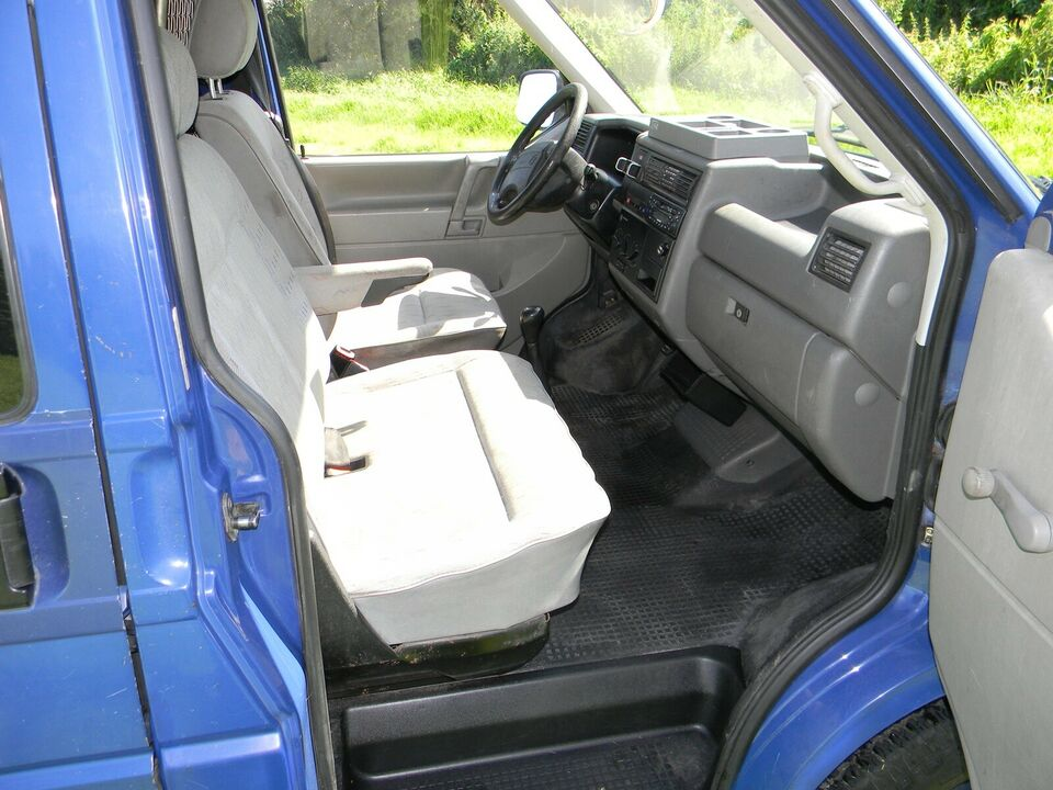 VW, Transporter, 2,4 D Allrounder Kassevogn