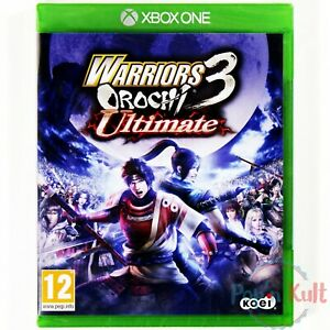 Jeu-Warriors-Orochi-3-Ultimate-sur-Xbox-One-NEUF-sous-Blister