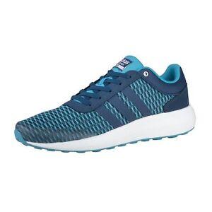 Nuove adidas cloudfoam corsa uomini piu 'scarpe blu b74729 formazione