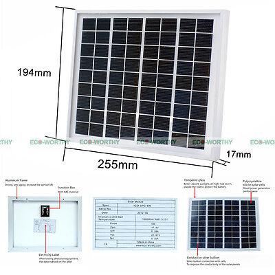 5W 12V poly solar panel polycrystalline solar panel for solar home system