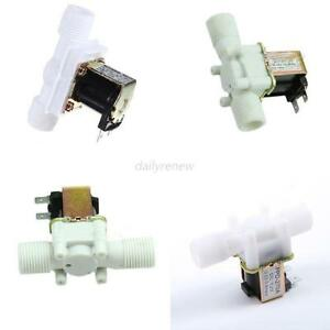 Electric solenoid valve magnetic 1 2 12v dc n c water air for 12v magnetic door switch