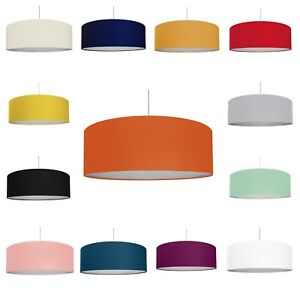 Details About Extra Large 30 80cm Drum Light Shade Diffuser Choice Of 14 Colours