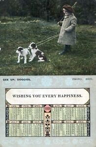 Postcard-Gee-up-Doggies-Ref-A10