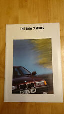 1991 BMW 3-SERIES BROCHURE INC. 325i