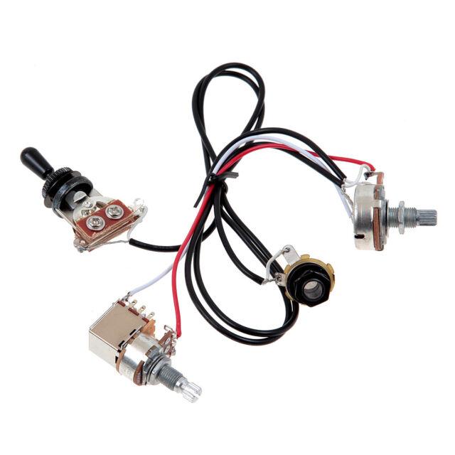 lp electric guitar pickup wiring harness for epi sg lp dot 1 toggle switch jack for sale online. Black Bedroom Furniture Sets. Home Design Ideas