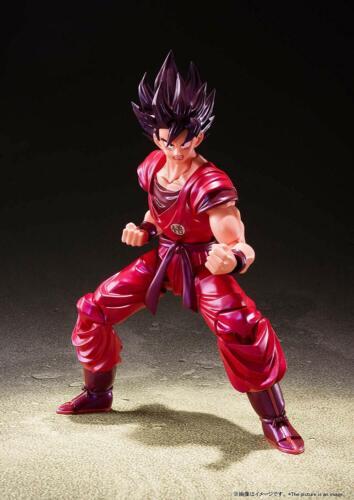 Bandai S.H.Figuarts SHF Dragon Ball Z Son Gokou Kaioken 140mm PVC ABS
