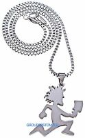 Juggalo Necklace Small Pendant With Hatchet 24 Inch Box Style Chain Insane