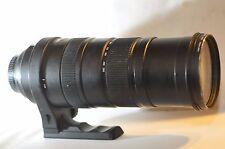 Sigma DG 150-500mm F/5-6.3 APO HSM OS lens for Nikon F5 D7100 D7200 D610 D750 DF