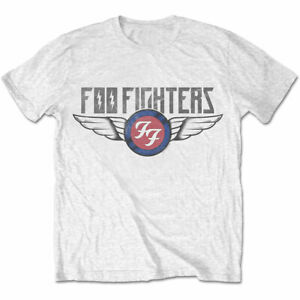 FOO-FIGHTERS-UNISEX-TEE-FLASH-WINGS-T-shirt-100-Official-Merchandise