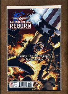 2009-Reborn-Captain-America-2-John-Cassaday-Variant-Marvel-Comics-Still-Sealed