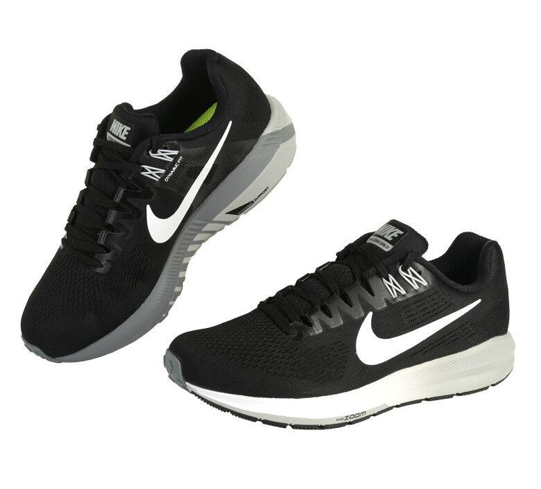 Nike Women s Air Marathon Zoom Structure 21 (904701-001) Running Shoes  Marathon Air d8bc6a443