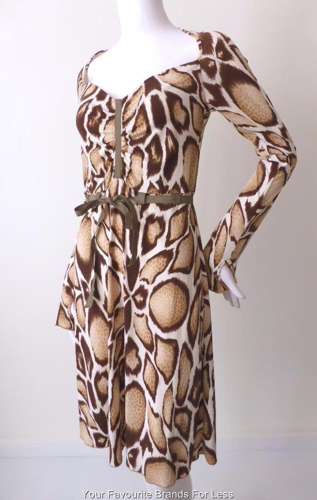 GRIPP JEANS - NEW -  Size 10 US 6 Dress Made in Australia Long Sleeve Shift