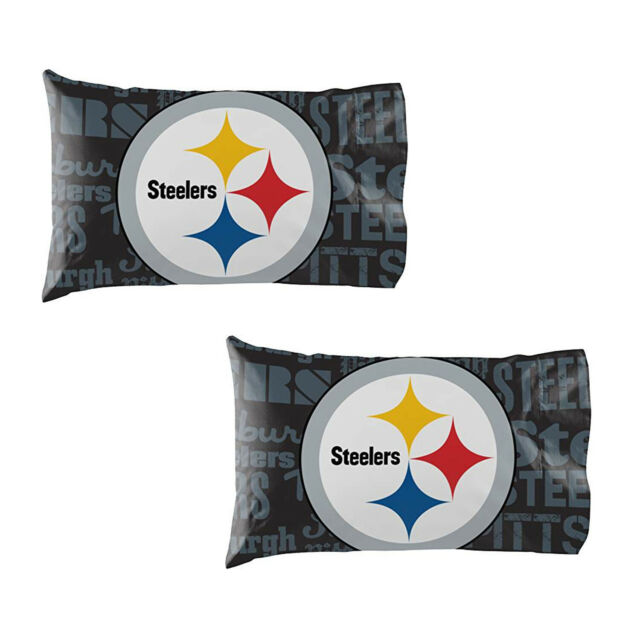 74cc3e87c4f Football Pittsburgh Steelers Pillow Case Covers 2 Pack officially Licensed
