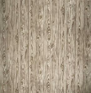 Wallpaper-Brown-gold-rustic-rusted-wood-planks-boards-textured-Non-Woven-roll-3D