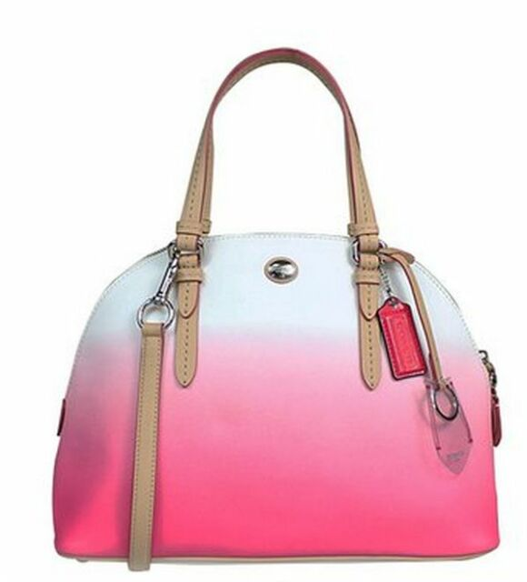 4a307761b039 ... multifunction baby bag road warriorette d5e26 16ac4  spain coach peyton  ombre cora domed satchel bag crossbody bag f29282 porcelain pink 94aba a394f