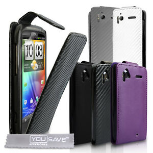Accessories-For-The-HTC-Sensation-PU-Leather-Flip-Case-Cover-Skin-amp-Screen-Film