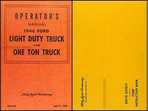 1946 Chevrolet Car Owners Manual Package with Envelope 46 Chevy ...