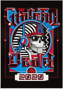 Grateful Dead Wall Calendar 2020 2020 Wall Calendar [12 pages A4] Grateful Dead Vintage Music