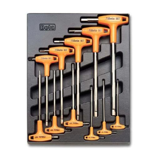 Beta T50 11 Piece T-Handled Hexagon Key Set Supplied In Thermoformed Tray 2 –...