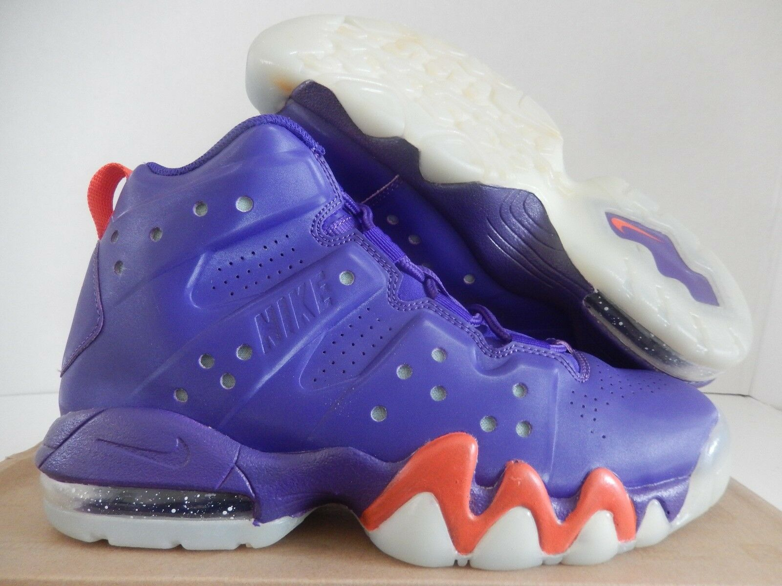 NIKE AIR MAX BARKLEY (GS) COURT PURPLE SZ 6.5Y-femmes SZ 8 RARE [488245-500]