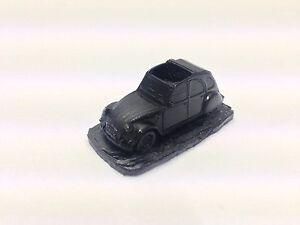 Citroen-2CV-ref37-Black-1-92-Scale-Model-Car-Handmade-in-Sheffield