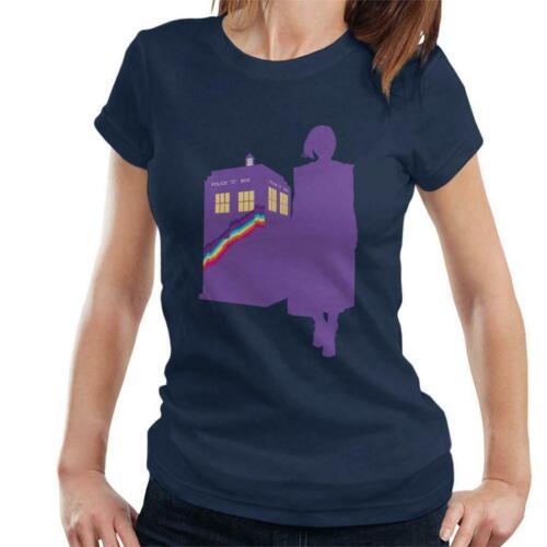 Doctor Who Femme Médecin Rainbow T-shirt femme